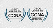 We are Cisco Certified